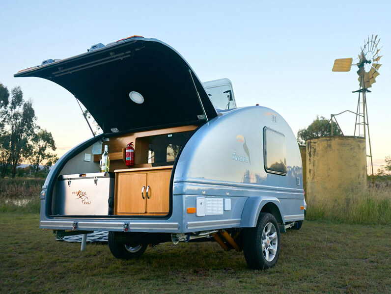 Tucana Teardrop Camper Available To Order Inside